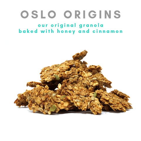 [Lactation Granola] Oslo Origins (honey x cinnamon)