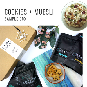 [Lactation] Cookies + Muesli Sample Box