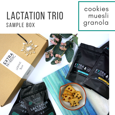 [Lactation] Lactation Trio Sample Box