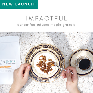 [Fit&Fab Granola] Impactful (maple x coffee)