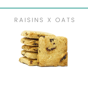 [Lactation Cookies] Raisins x Oats