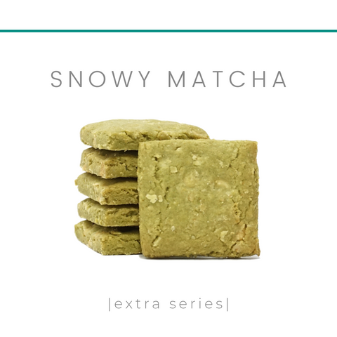 [Lactation Cookies] Snowy Matcha - Extra Series
