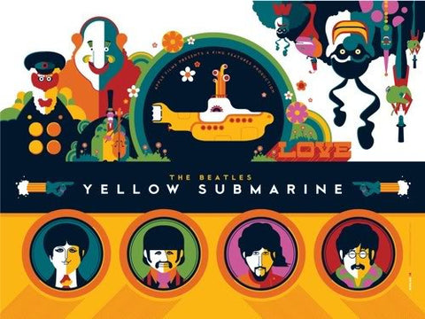 Beatles Yellow Submarine Folio 12 Whalen Set (5)