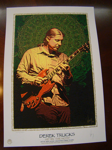 Derek Trucks Allman Brothers Wood 2006