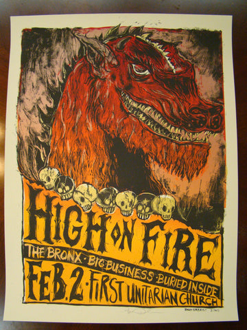 High on Fire Grzeca 2006