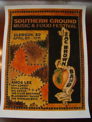 Zac Brown Band Landis 2010 Clemson
