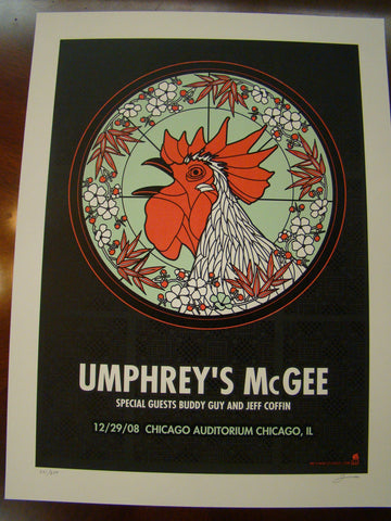 Umphrey's McGee Chicago Methane 2008