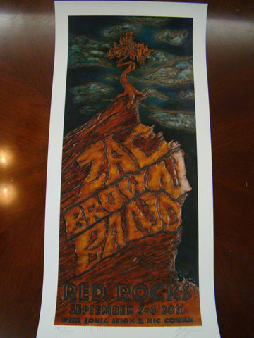 Zac Brown Band Morrison 11 Landas