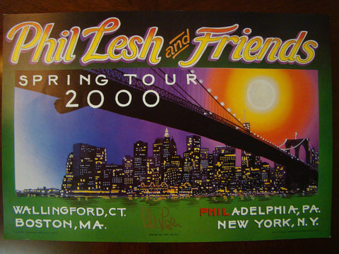 Lesh (signed) Spring Tour 00 Ryan