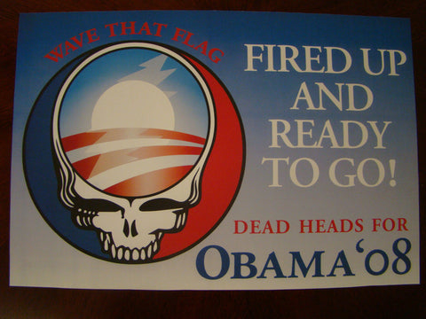 Deadheads For Obama 08