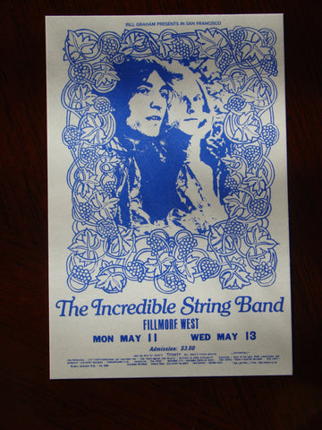 Incredible String Band BG 232A 1970