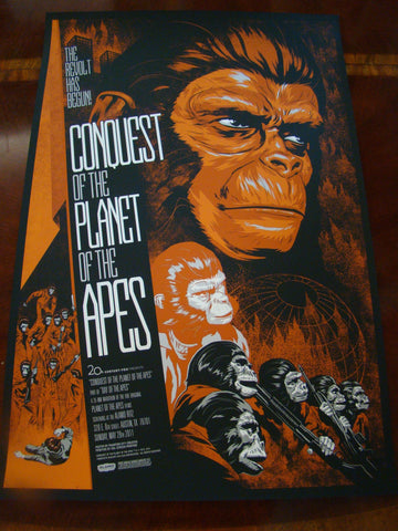 Conquest Of The Planet Of The Apes 12 Phantom City Creative - Sideshow Variant
