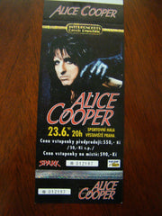 Alice Cooper Prague Czech REP 1996