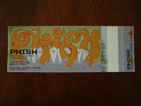 Phish Hampton 2009