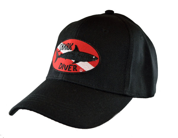 Dive Flag Baseball Cap - Shark Diver
