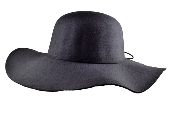 Lisa Medium Brim Vegan Felt Hat