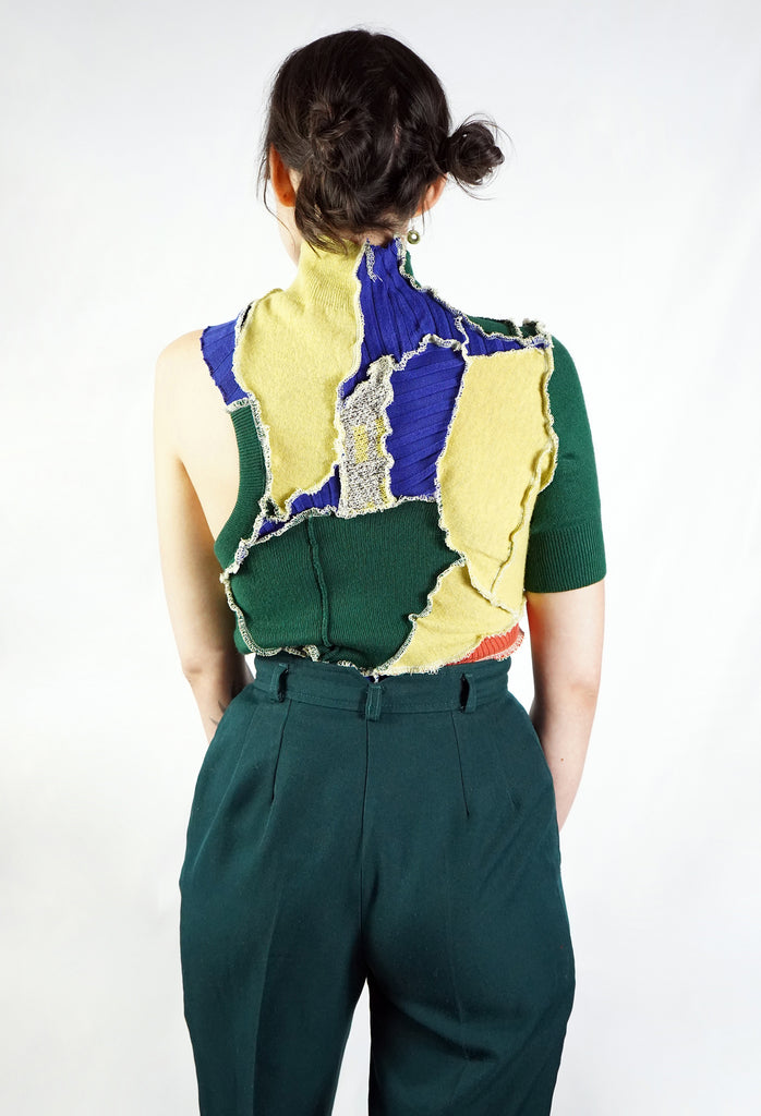 Patchwork Leotard
