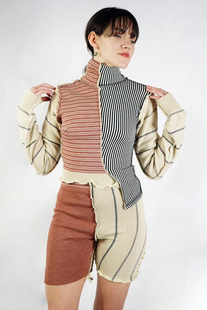 Striped Patchwork Co-Ord