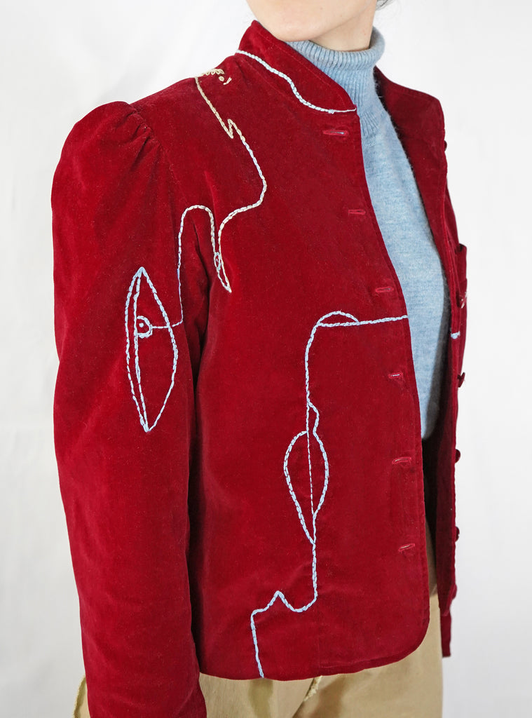 Vintage Abstract Jacket
