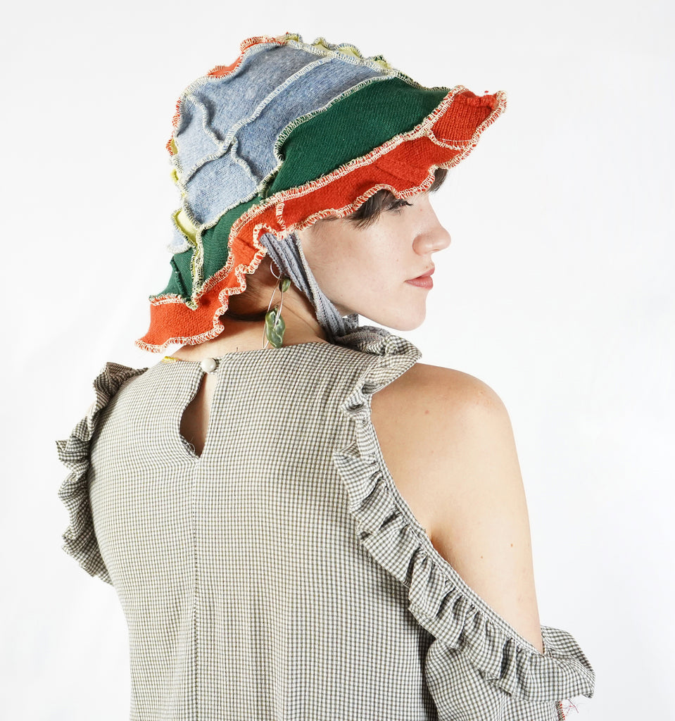 Patchworked Bucket Hats