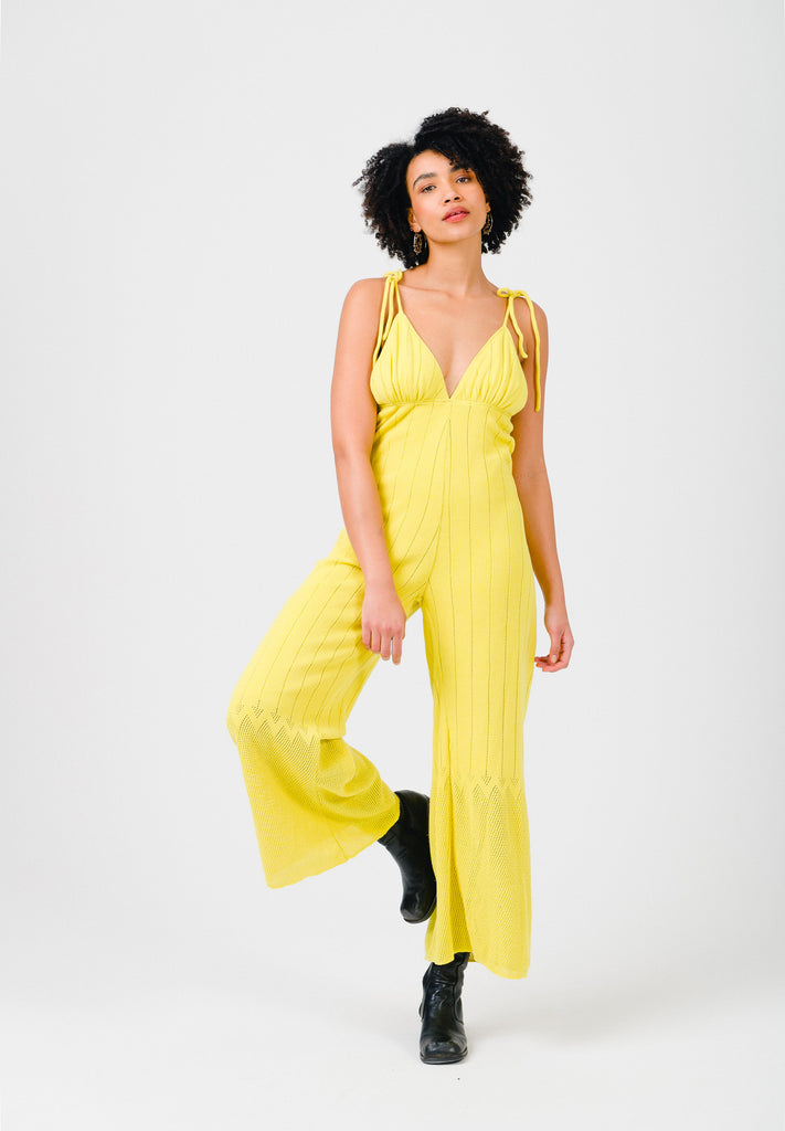 Celery Yellow Jumpsuit