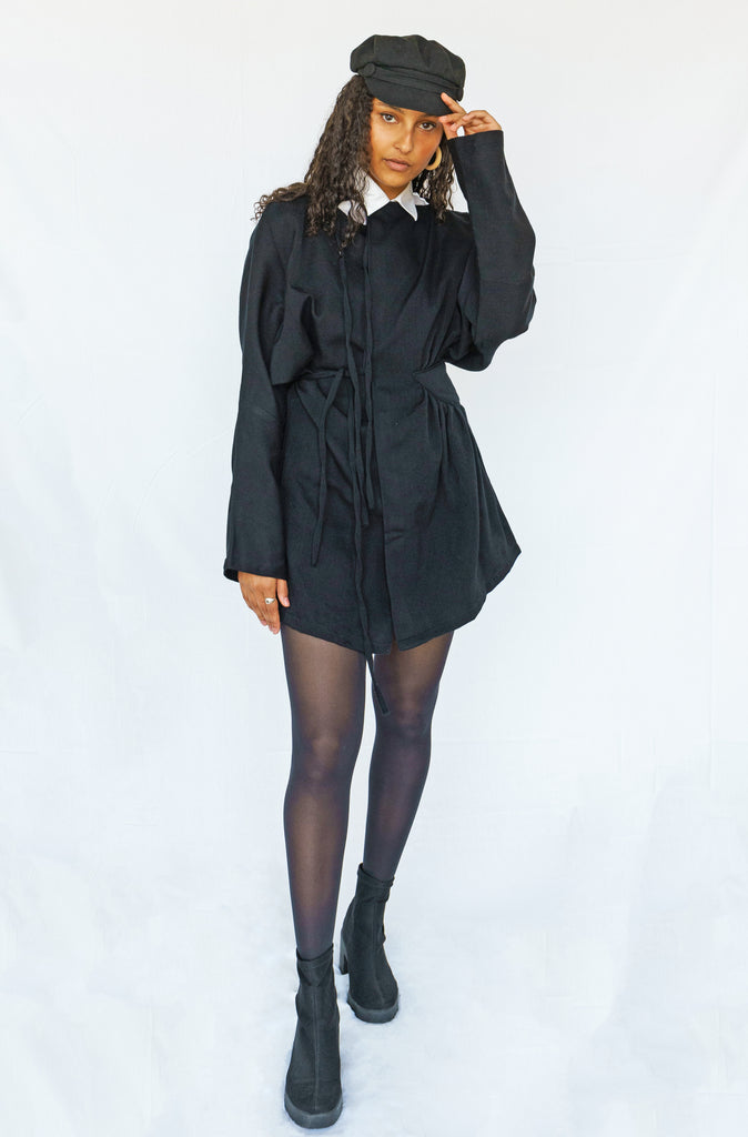 Asymmetric Black Jacket