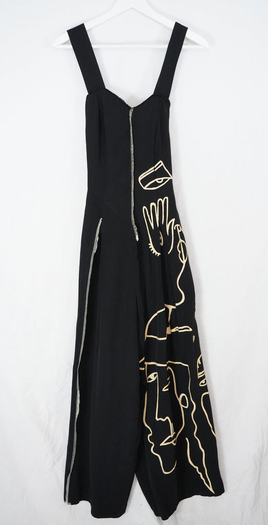 Abstract Jumpsuit