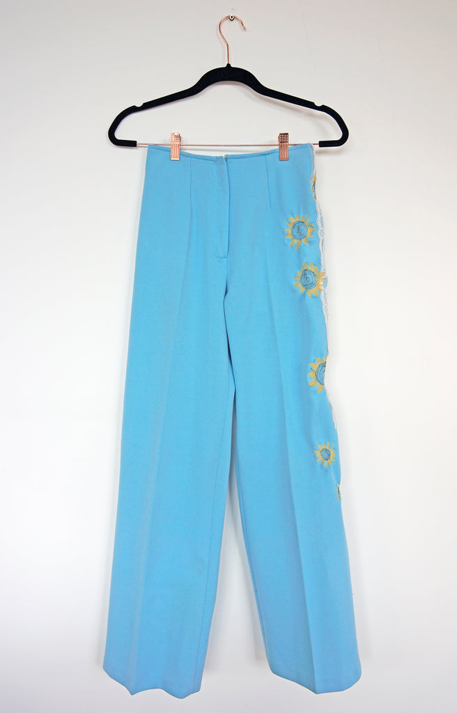 Upcycled Sunflower Trousers