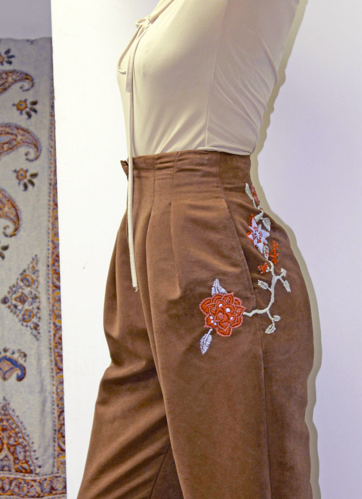 REVIVE Vintage High Waisted Trousers