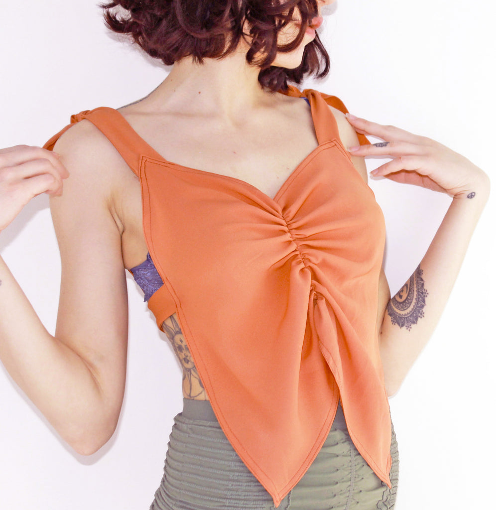 REVIVE Butterfly Bandana Top
