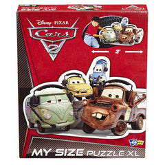 Disney Pixar Cars 2 Mater, Filmore & Friends My Size XL 46 Piece Jigsaw Puzzle