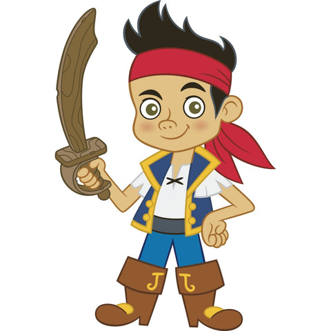 Disney Jake And The Neverland Pirates Peel And Stick Giant Wall Decals