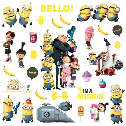 Despicable Me 2 Peel And Stick Wall Decals