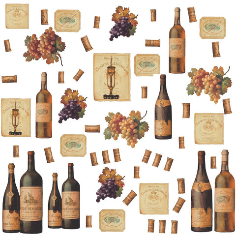 Wine Tasting Peel & Stick Wall Decals