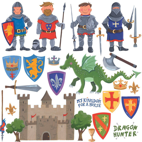 Dragon Hunter Peel & Stick Wall Decals