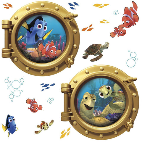 Finding Nemo Peel And Stick Giant Wall Decals
