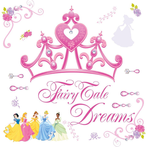 Disney Princess Crown Peel & Stick Giant Wall Decals