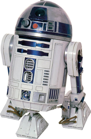 Star Wars Classic R2D2 Peel And Stick Giant Wall Decals
