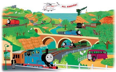 Thomas And Friends Peel & Stick Giant Wall Decals