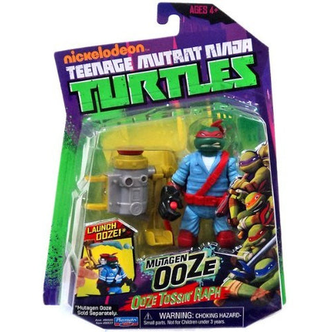 Teenage Mutant Ninja Turtles Mutagen Ooze Tossin' Raph Action Figure
