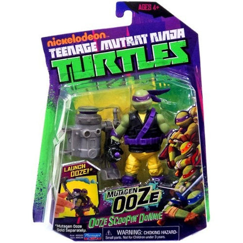 Teenage Mutant Ninja Turtles Mutagen Ooze Scoopin' Donnie Action Figure