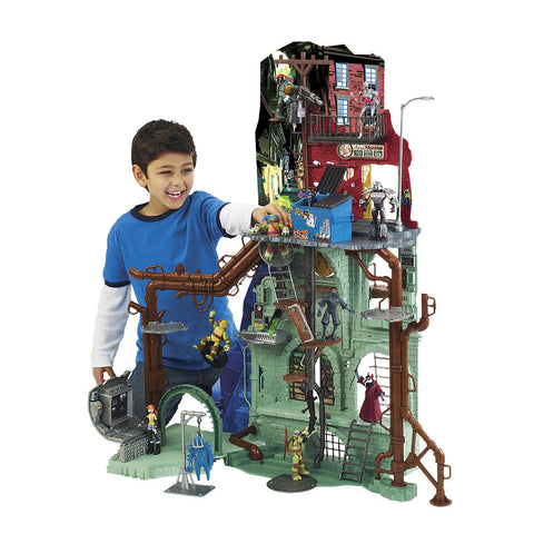 Teenage Mutant Ninja Turtles TMNT Secret Sewer Lair Playset