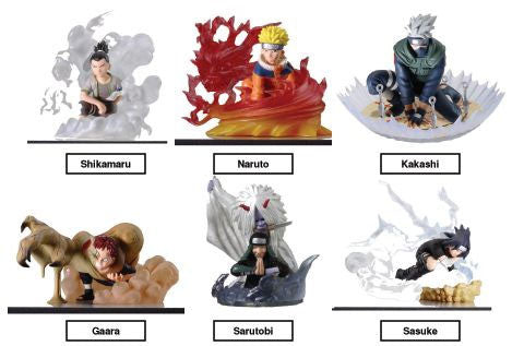 Naruto: Series 3 Trading Figures (Display of 12)