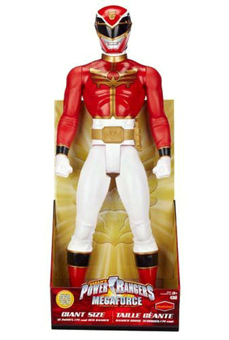 Power Rangers Mega Force 31 Inch Red Ranger Action Figure