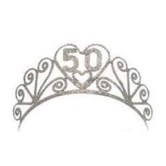 50th Birthday Tiara