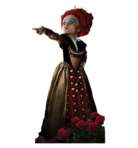 Alice in Wonderland Red Queen Cardboard Cut Out Stand-Up