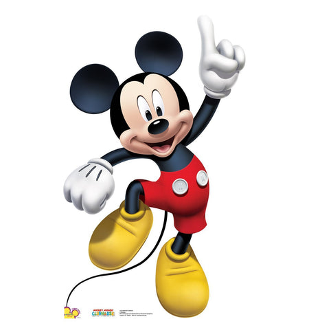 Disney Mickey Mouse Dance Life Size Cardboard Cut Out Stand-Up