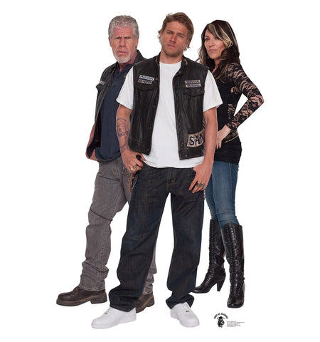 Sons of Anarchy Group Cardboard Cut Out Stand-Up