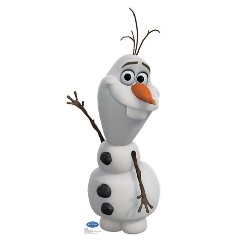 Disney Frozen Olaf Life Size Cardboard Cut Out Stand-Up