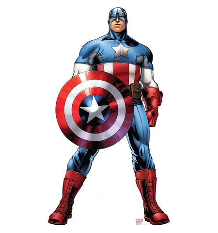 Marvel Captain America Cardboard Cut Out Stand-Up